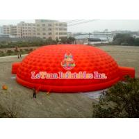 Buy cheap Red Inflatable Dome Tent High Density Oxford Cloth For Events And Meeting from wholesalers
