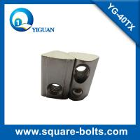 Buy cheap roll-in T slot nut with spring loaded ball with high strength carbon steel material from wholesalers