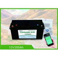 Buy cheap Deep Cycle Prismatic Cell Lifepo4 Rechargeable Battery 12v 200ah With Bluetooth APP from wholesalers