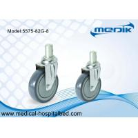 Buy cheap Round Stem Models 5 Inch Medical Castors , Care And Hospital Bed Casters from wholesalers