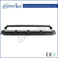 Buy cheap UTP Cat. 6 24port Patch Panel from wholesalers