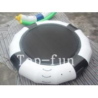 Buy cheap Funny Inflatable Rrampoline Amazing PVC Inflatable Water Parks For Kids and Adults product