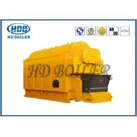 Buy cheap Gas Fired  Hot Water Steam Boiler / Industrial Water Tube Boiler Single Drum from wholesalers