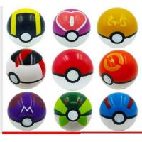 Buy cheap 7cm Pokemon Pikachu Pokeball Cosplay Pop-up Master Great Ultra GS Poke Ball Toys from wholesalers