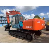 Buy cheap used Hitachi EX200 tracked excavator in Shanghai from wholesalers