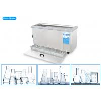 Buy cheap 30 Liter 500 Watt Ultrasonic Cleaning Bath , Lab Ultrasonic Bath With 1 - 99H Timer from wholesalers