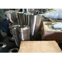 Buy cheap 306 / 304 Stee Grade Stainless Steel Flanges , Orifice Steel Blind Flange Cold Drawing from wholesalers