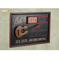 Buy cheap Open And Close Signs Special Wooden Wall Plaques For Shops from wholesalers