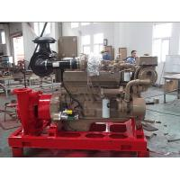 Buy cheap Fifi External Fire Fighting Pump System with Monitor and Diesel Engine from wholesalers