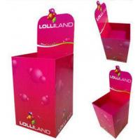 Buy cheap Pink Exhibition Corrugated Cardboard Dump Bins , Promotion Bins from wholesalers