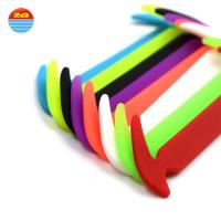 Buy cheap Non - Toxic Slip Ons Silicone Shoe Laces Any Colors Are Available Non - Stick from wholesalers