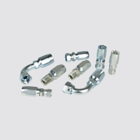 Buy cheap NPT MALE 15618 - 08 - 08  Reusable High Pressure Hose Fittings from wholesalers