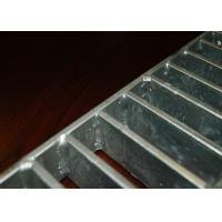 Buy cheap Swaged Pressure Steel Step Treads , Black Locked Metal Treads For Steps from wholesalers