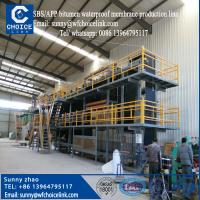 Buy cheap 2million SBS/APP bitumen waterproof membrane production line/ waterproofing membrane machine from wholesalers