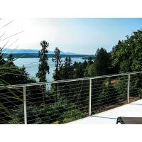 Buy cheap Weatherproof Stainless Steel Cable Railing Outdoor Deck Cable Railing from wholesalers