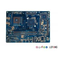 Buy cheap Medical ECG Device PCB Circuit Board Multilayer With Blue Solder Mask from wholesalers