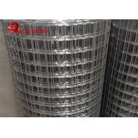 Buy cheap 6ft Width Electric Fusion Hot Dipped Galvanized Wire Mesh 19 X19x1.6mm Dia from wholesalers