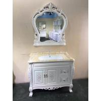 Buy cheap Antique Classical Soft Close Door PVC Bathroom Vanity With Ceramic Basin from wholesalers