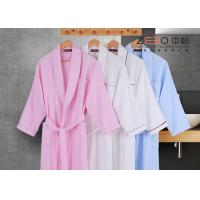 Buy cheap Stripe Style Hotel Style Bathrobes Long Sleeve For Winter DT0016 from wholesalers