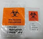 Buy cheap Biohazard doucument specimen bags from wholesalers