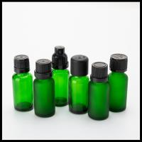 Buy cheap Green Essential Oil Glass Bottles 20ml Capacity Recyclable Material BPA Free from wholesalers