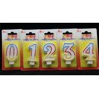 Buy cheap Best Selling-Factory Handmade Birthday Candles with 3 colors Edge with Origin holder product
