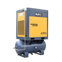 Buy cheap Tank and air dryer mounted rotary screw air compressor from wholesalers