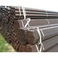 Buy cheap ASTM A500 MS Hollow section galvanized Black welded ERW steel pipe tubular from wholesalers