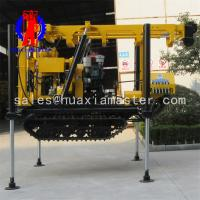 China XYD-130 Tracked Diamond Rock Core Boring Machine Water Well Drilling Rig On Promotion on sale