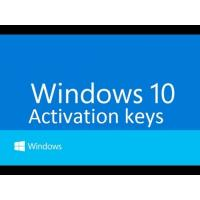 Buy cheap Windows 10 Pro Software , Windows 10 Product Key code online activation from wholesalers