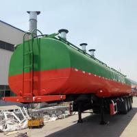 Buy cheap 45000 liters tri-axle fuel tanker truck trailer for sale from wholesalers