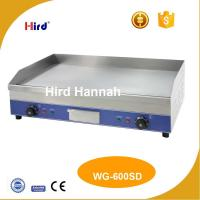 Buy cheap CE Electric grille Best cast iron griddle Mirror hot plate 9mm thick WG-600SD from wholesalers