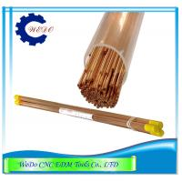 Buy cheap EDM Electrode Pipe / Copper Tubes 0.9x400mmL Double Holes For EDM Drill Machine from wholesalers