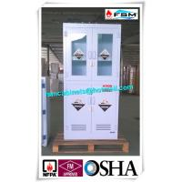 Buy cheap Polypropylene Hazardous Material Storage Cabinets With Window For Laboratory / Chemical from wholesalers