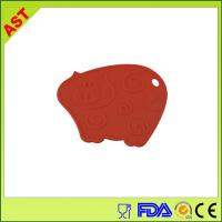 Buy cheap silicone pig-shaped baking mat from wholesalers