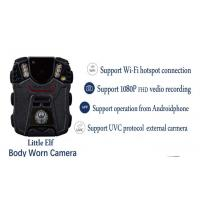 H.264 wireless Police Body Cameras Password protect USB 2.0 Port 3.3 Voltage