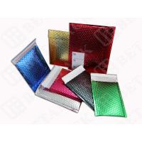 Buy cheap High Gloss Bubble Wrap Mailing Envelopes , Blue / Gold Bubble Mailers from wholesalers