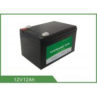 Buy cheap 12V 12Ah Professional Prismatic Lithium Batteries For Golf Carts Fast Charging  from wholesalers