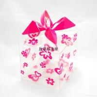 Buy cheap plastic clear  wedding gift boxes wholesale acetate box  plastic favor box in China from wholesalers