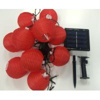 China 4.8 length 20LED solar lantern light string on sale