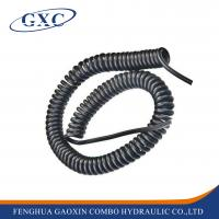 Buy cheap 10M  3/8 Pneumatic Pipe Of Spring Tube Pu Material telescopic Hose from wholesalers