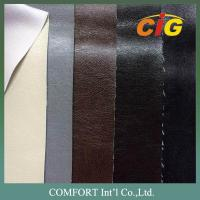 Buy cheap Shrink-Resistant PU Artificial Leather , Imitating genuine leather product