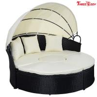 Buy cheap Round / Curved Outdoor Sofa , Comfortable Contemporary Outdoor Furniture Lounge Sofa from wholesalers