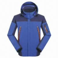 Buy cheap Men's Hoody Functional Ski Clothing, Available in Different Designs from wholesalers