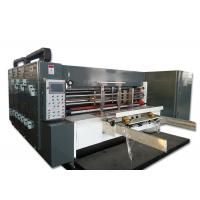 Buy cheap Cardboard Box Four Color Flexo Printing Slotting With Die - Cutter Machine product