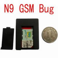 Buy cheap N9 Frequency 900, 1800, 1900MHz CE FCC Voice Trigger SIM Card GSM Listening Bug product