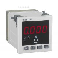 Wd-9id 96*96mm Ac Digital Panel Ammeter , Waterproof Digital Ammeter Gauge Single Phase