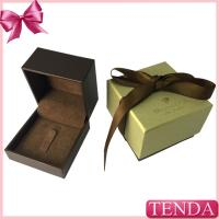 Buy cheap Beautiful Cute Customized Earring Ring Jewelry Boxes Wholesale Retail for Wedding with Ribbon from wholesalers
