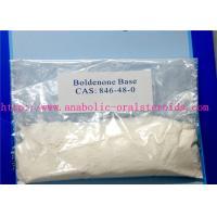 White Crystalline Powder Anti Aging Hormones Boldenone Base 846-48-0 No Side Effects