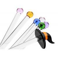 Straight Glass Drinking Straws Borosilicate Glass Customized Service